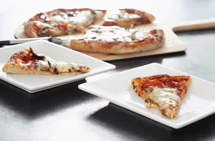 Artistic Italian pizza