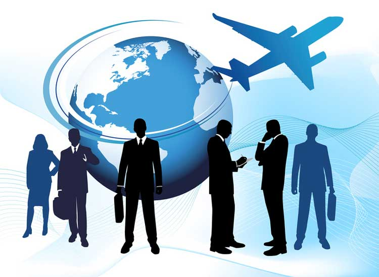 Business, travel, people