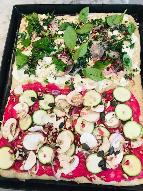 Colourful Pizza al Taglio