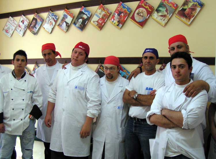 Group Pizza Chefs