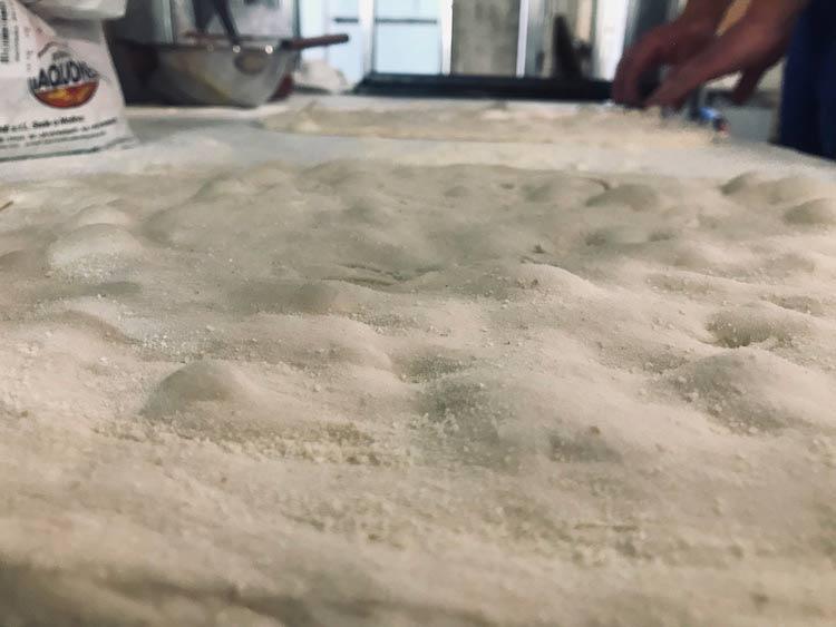 High Hydration Pizza al taglio Dough