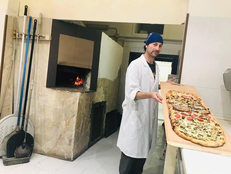 Pizza Metro Pizza chef