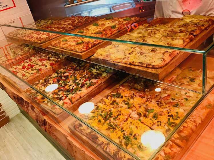 Pizza Taglio Display