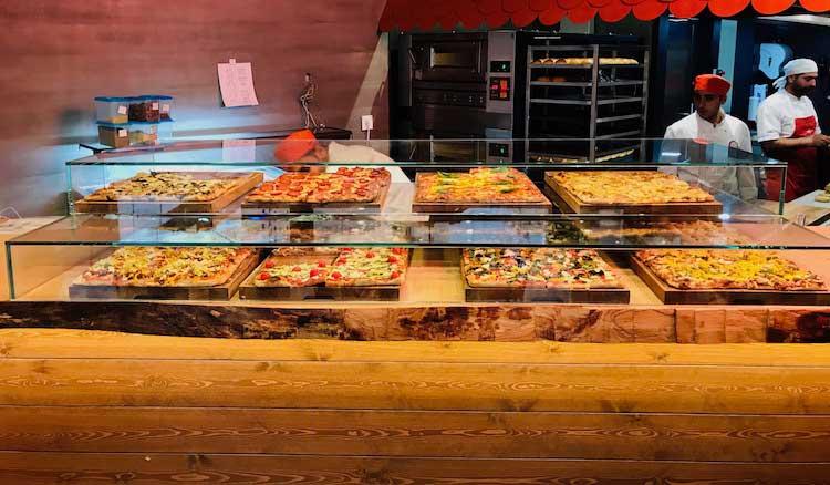 Pizza Teglia Romana