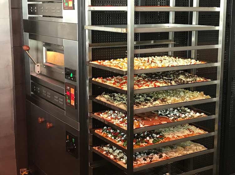 Pizza al Taglio oven