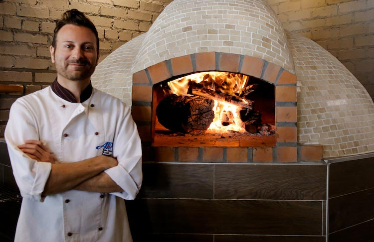 Pizza chef Wood Fired oven