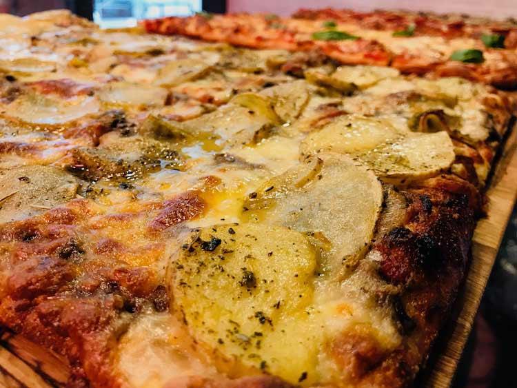 Potatoes Pizza al Taglio