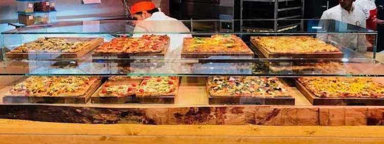 Pizza al taglio variety