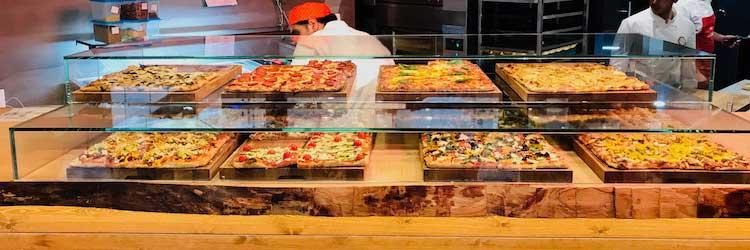 Roman Pizza Display