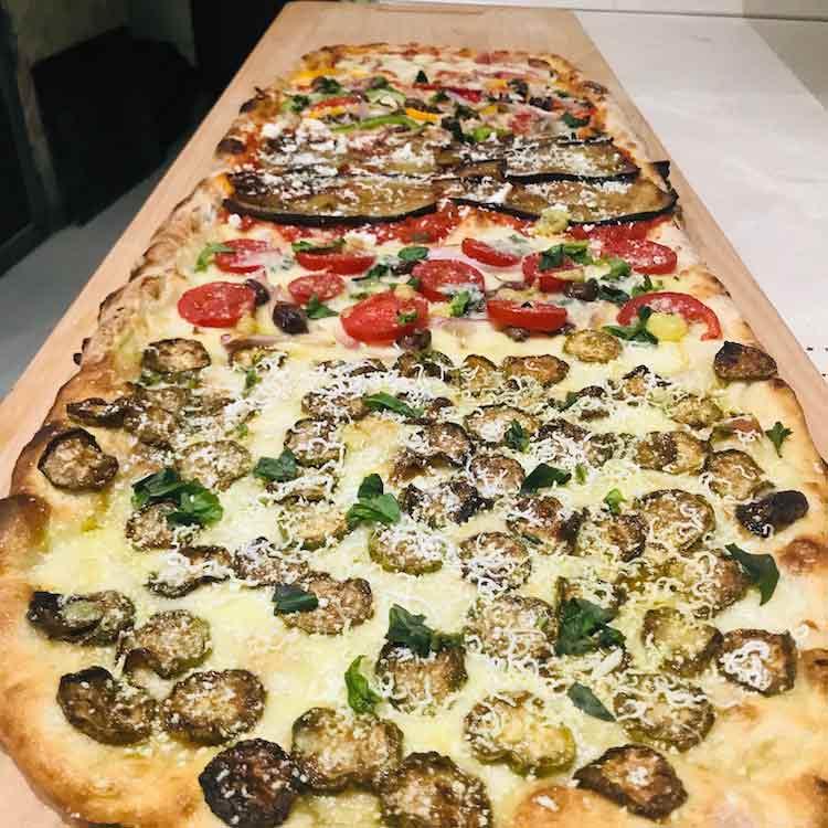Italian pizza meter